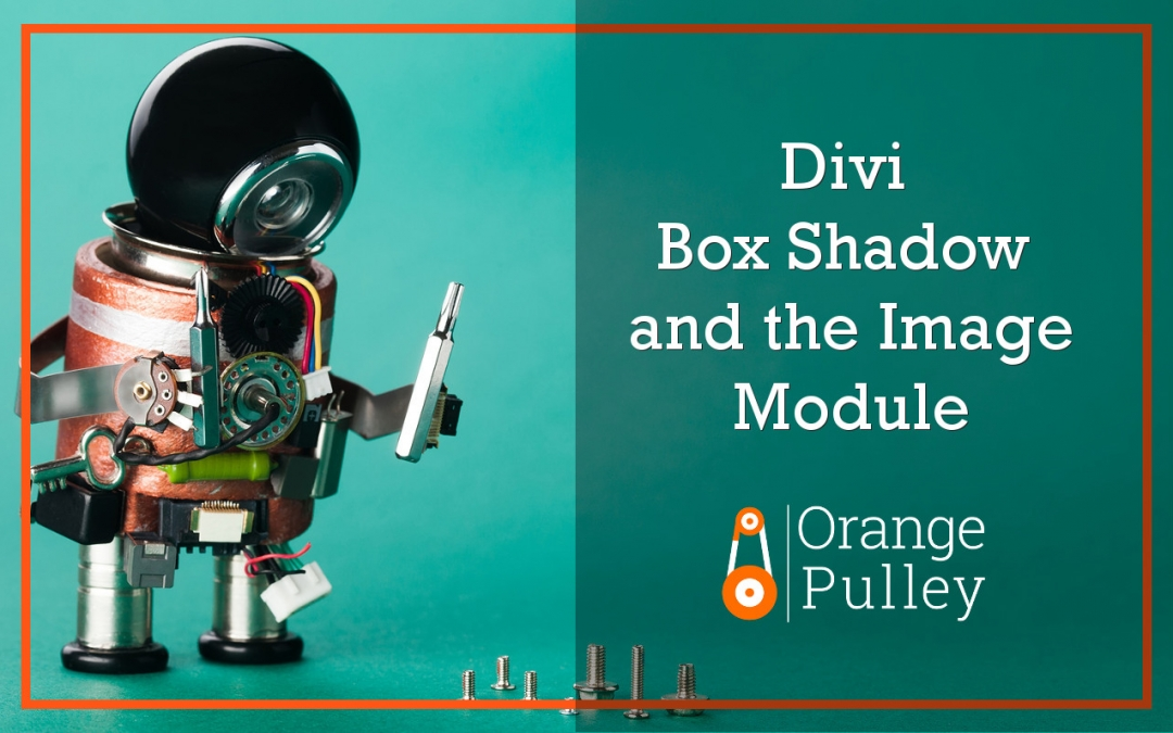 Divi Box Shadow and the Image Module