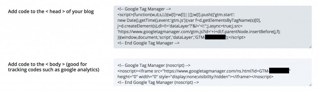 divi integration google tag manager