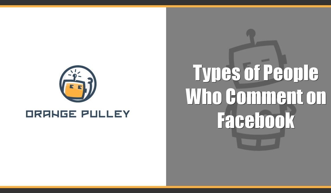 Types of Tech People Who Comment on Facebook