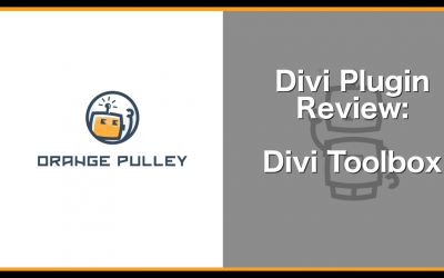 A Plugin Review – Divi Toolbox
